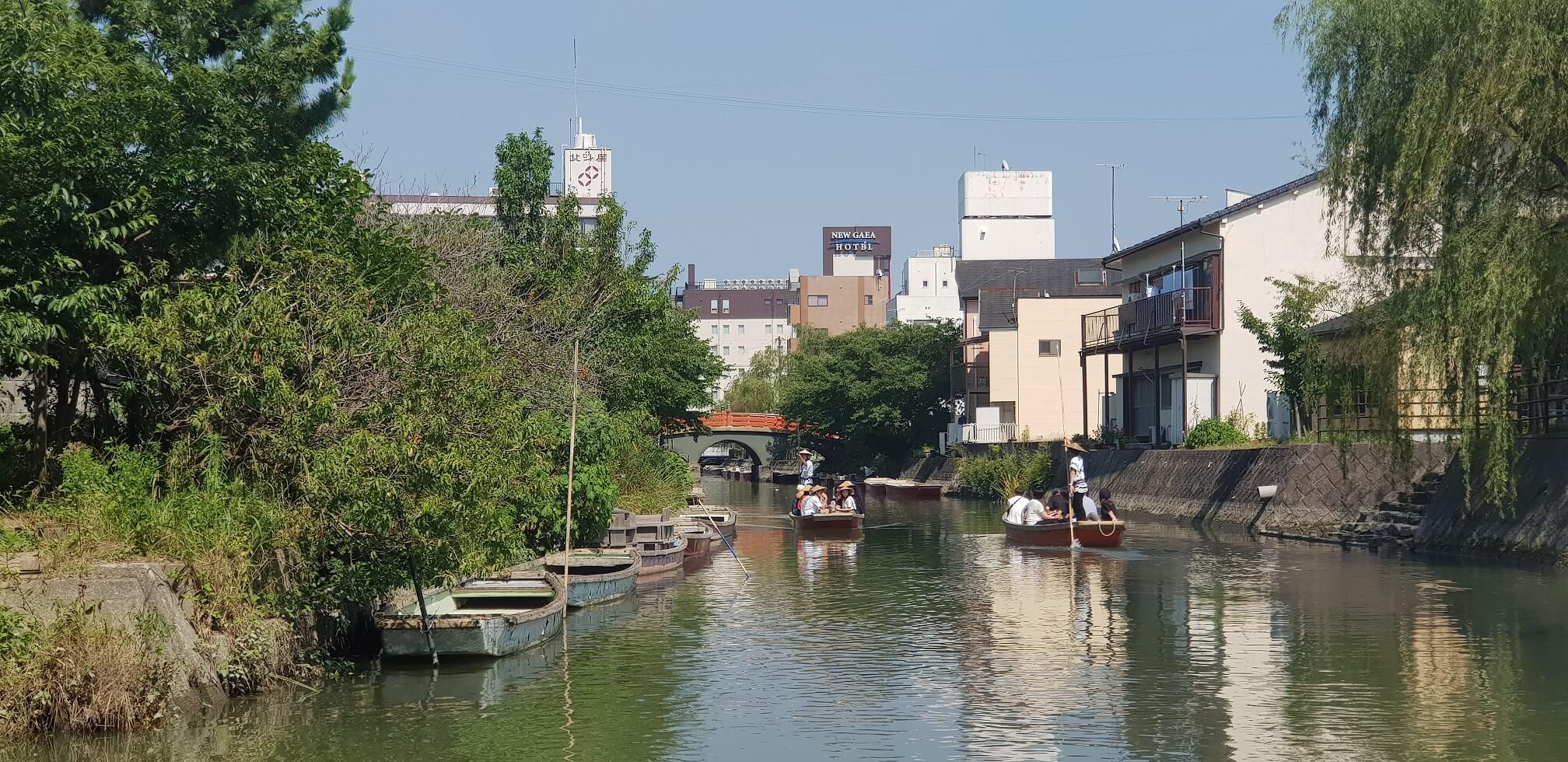 Yanagawa canal