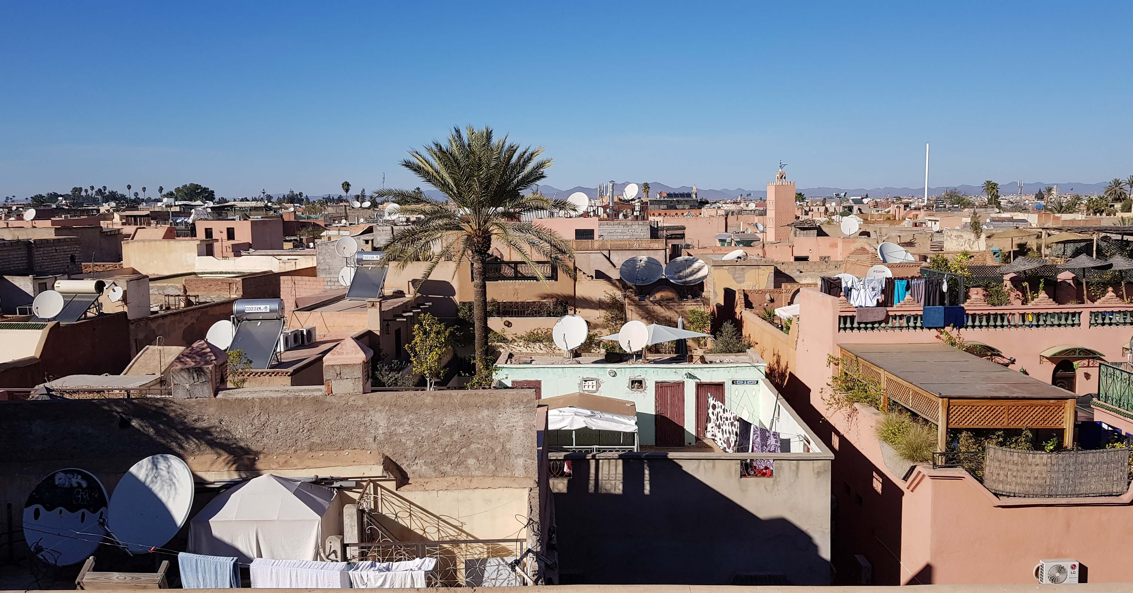 Rooftops of Marrakesh